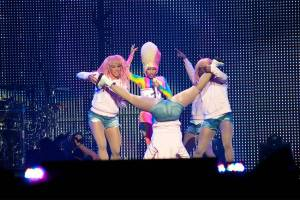 Nicki Minaj at Rogers Arena, Vancouver, April 27 2011. Ashley Tanasiychuk photo