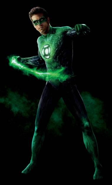 Ryan Reynolds as Green Lantern.