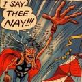 Tony Millionaire's Thor story in Strange Tales II.
