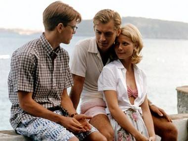 Jude Law, Matt Damon and Gwyneth Paltrow in The Talented Mr. Ripley (1999).