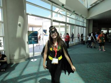 Kaelin at the 2011 San Diego Comic-Con, July 22 2011. Shawn Conner photo