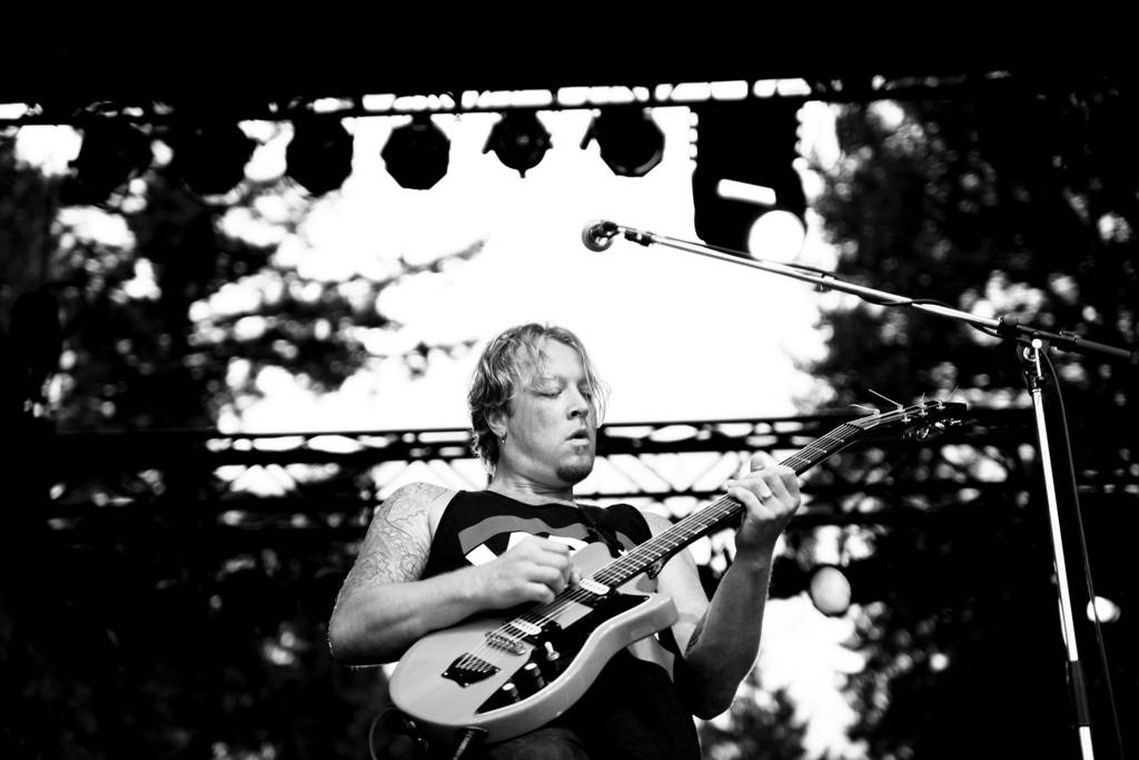 Daniel Wesley at Summer Live, July 8 2011. Anja Weber photo