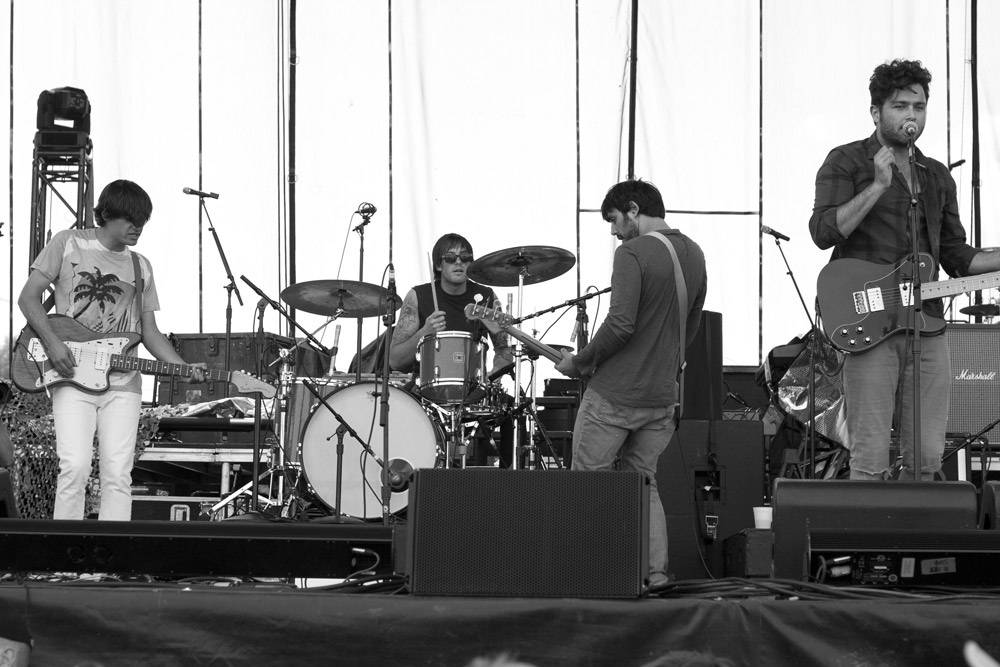 Arkells at Edgefest 11, Downsview Park Toronto July 9 2011. Heather Orr photo