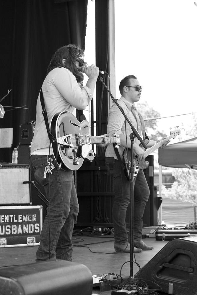 Gentlemen Husbands at Edgefest 11, Downsview Park Toronto July 9 2011. Heather Orr photo