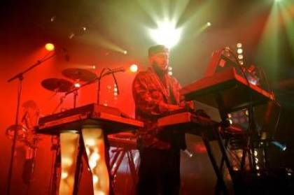 Chromeo perform live at the Commodore