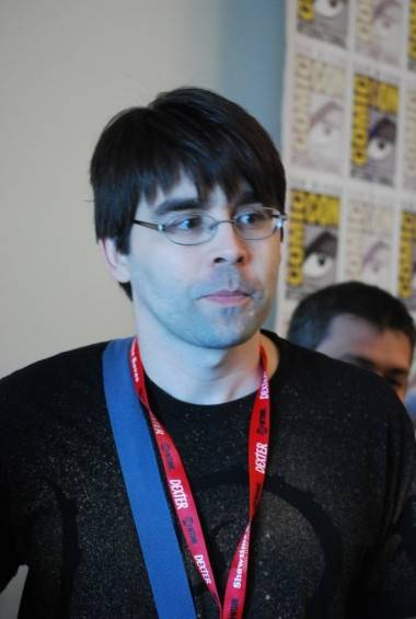Joe Hill at the 2011 San Diego Comic-Con. Ryan West photo