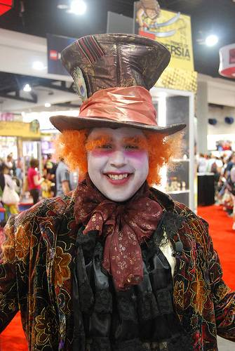 Mad Hatter at Comic Con