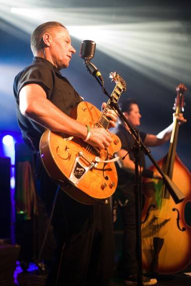 Reverend Horton Heat at the Commodore