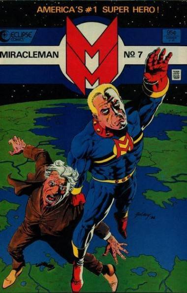 Miracle Man 7 comic book cover