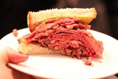 Dunn's Famous Vancouver sandwich photo