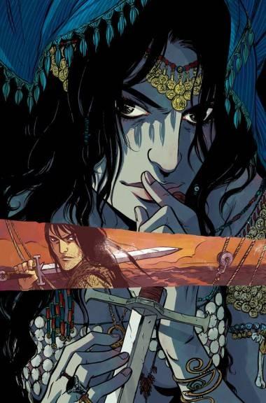 Becky Cloonan Conan art