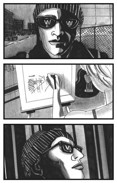 David Lester art The Listener graphic novel
