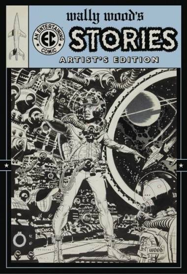 Wally Wood Artist's Edition cover IDW Publishing
