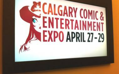 Calgary Comic and Entertainment Expo sign photo
