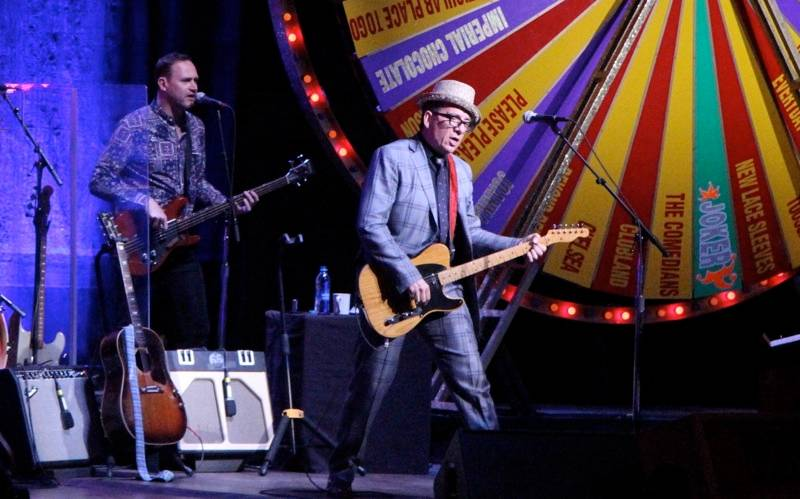 Elvis Costello at the Orpheum Vancouver photo