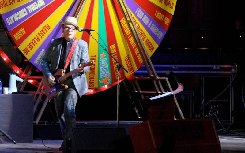 Elvis Costello Orpheum Theatre concert photo