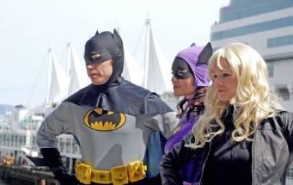 Batman cosplay Fan Expo Vancouver