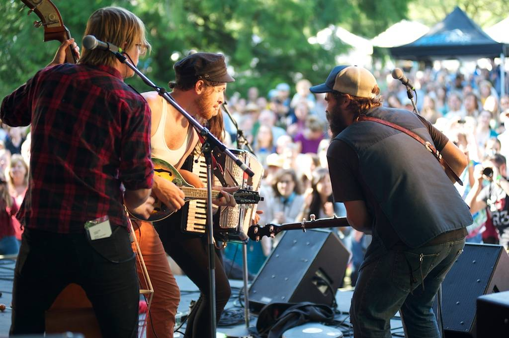 Canailles at the Vancouver Folk Music Festival