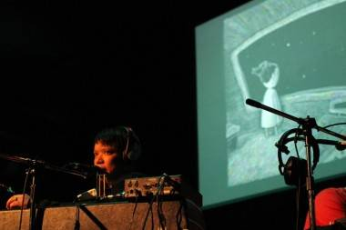 Kid Koala at Performance Works concert photo