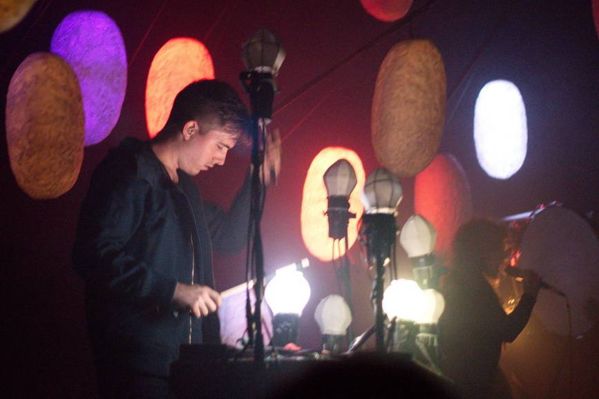 Purity Ring concert photo