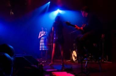 Nouvelle Vague at Venue, Vancouver, Feb 5 2010. Michael Caswell photos