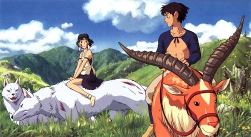 Princess Mononoke Studio Ghibli Vancity