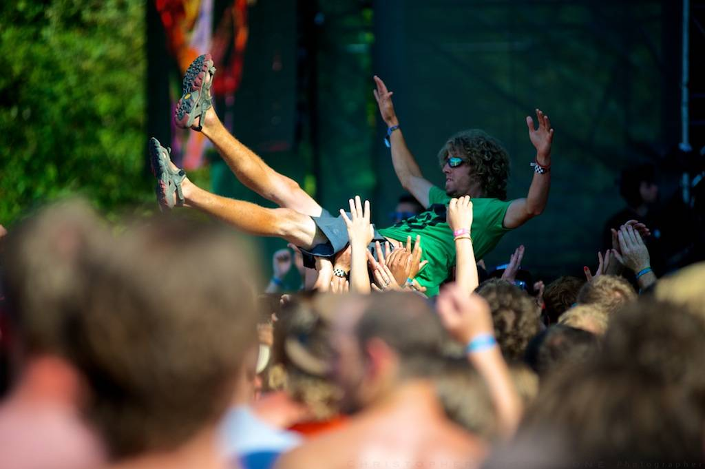 crowd surfer