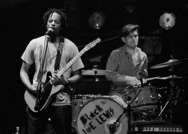 Black Joe Lewis at the Rickshaw Vancouver.