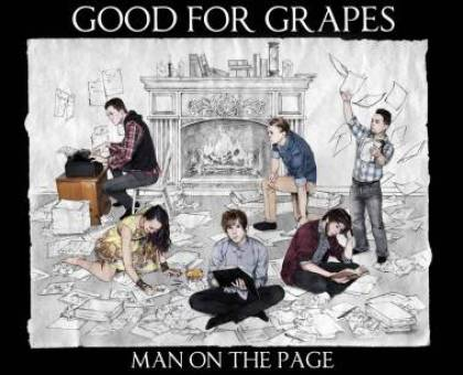 Cover art for Man on the Page.