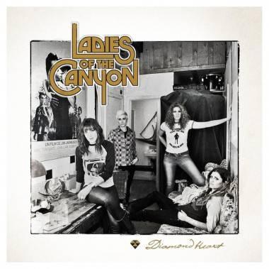 Ladies of the Canyon Diamond Heart album cover