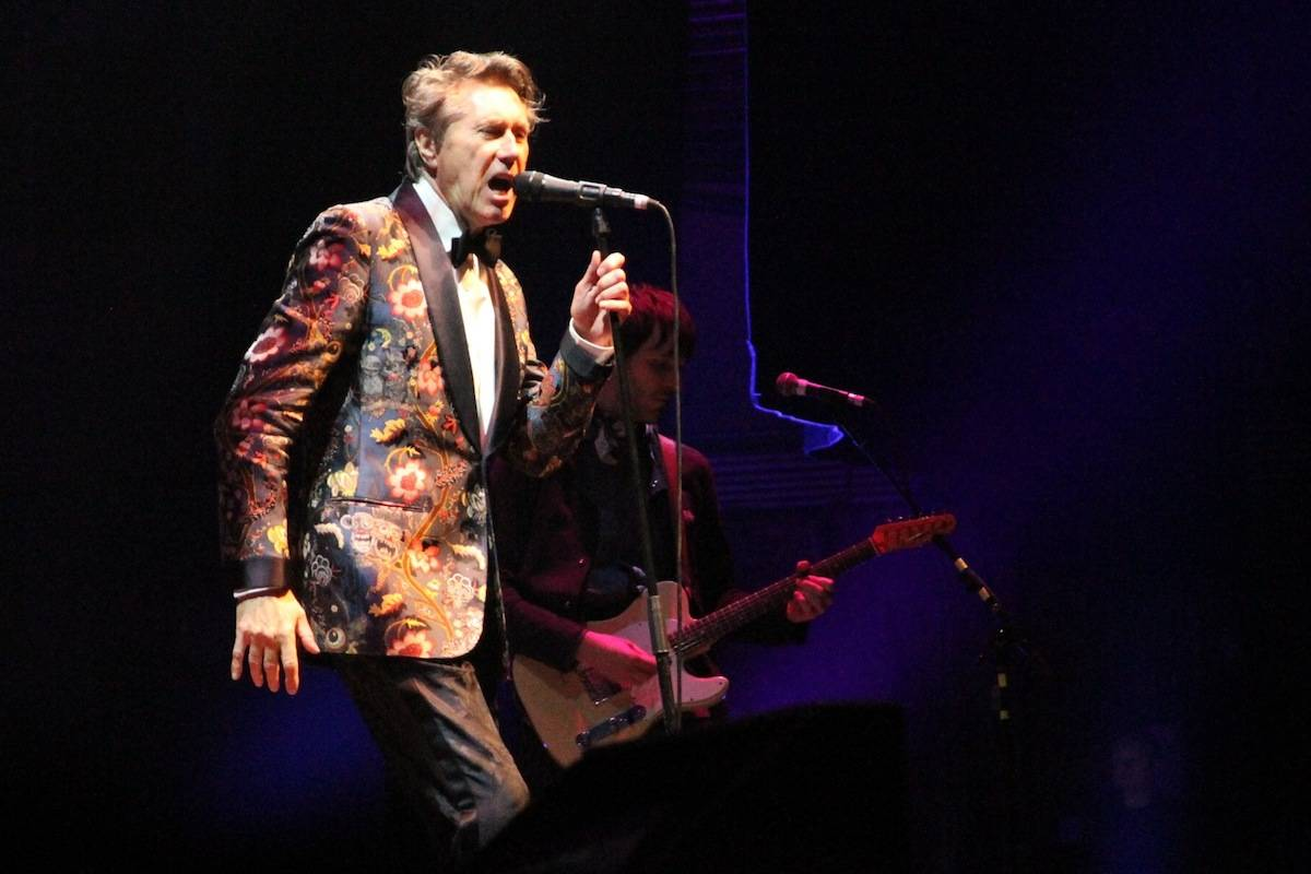 Bryan Ferry at the Queen Elizabeth Theatre, Vancouver, April 5 2014. Robyn Hanson photo.