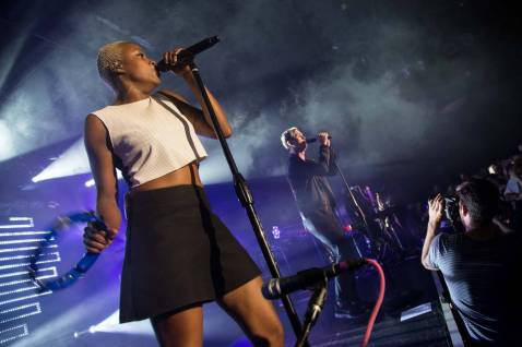 Fitz and the Tantrums at the Commodore Ballroom, Vancouver, June 25 2014. Kirk Chantraine photo.