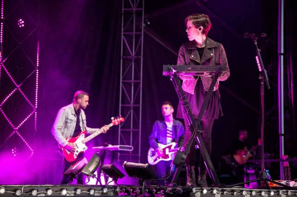 Tegan and Sara at Deer Lake Park, CBC Music Festival