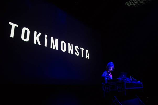 Tokimonsta at the Imperial Theatre, Vancouver, Sept. 24 2014. Kirk Chantraine photo.