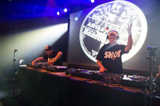 DJ Shadow and Cut Chemist at the Commodore Ballroom, Vancouver, Oct. 9 2014. Kirk Chantraine photo.