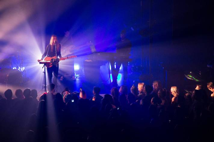 Brooke Fraser at Venue, Vancouver, Jan. 23 2015. Kirk Chantraine photo.