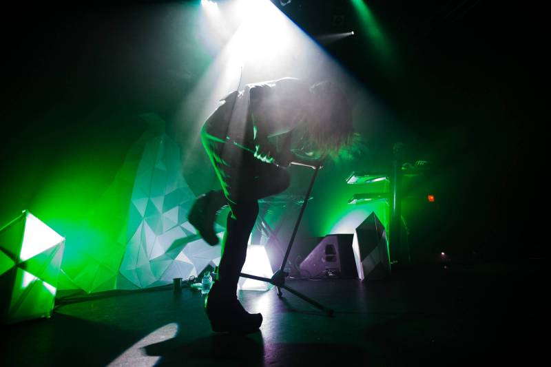 Zola Jesus at Venue, Vancouver, Jan 10 2015. Kirk Chantraine photo.
