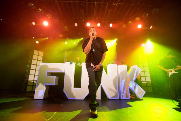 Funk Hunters and Chali 2na at the Commodore Ballroom, Vancouver, Mar. 21 2015. Kirk Chantraine photo.