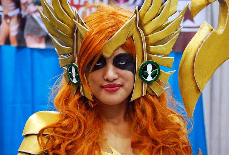 Angela cosplayer at Fan Expo Vancouver, April 3 2015. Ryan Ingram photo.