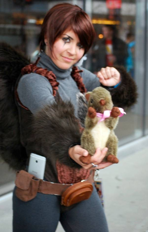 Squirrel Girl cosplayer at Fan Expo Vancouver 2015