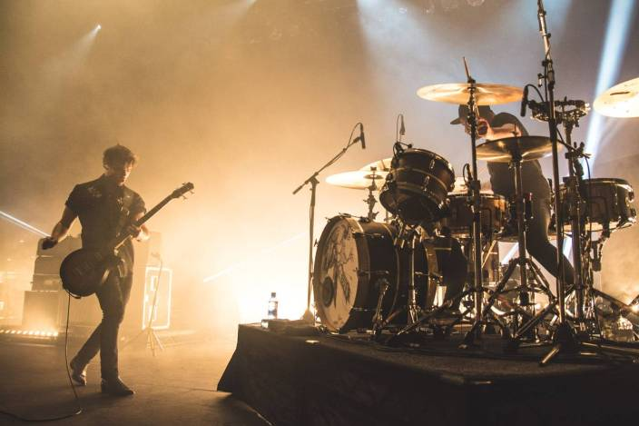 Royal Blood at the Vogue Theatre, Vancouver, May 23 2015. Pavel Boiko photo.