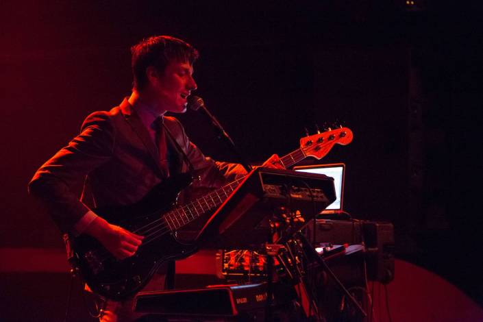 East India Youth at the Fox Cabaret, Vancouver, May 6 2015. Kirk Chantraine photo.
