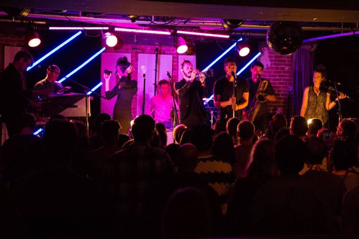 San Fermin at the Electric Owl, Vancouver, May 24 2015. Kirk Chantraine photo.