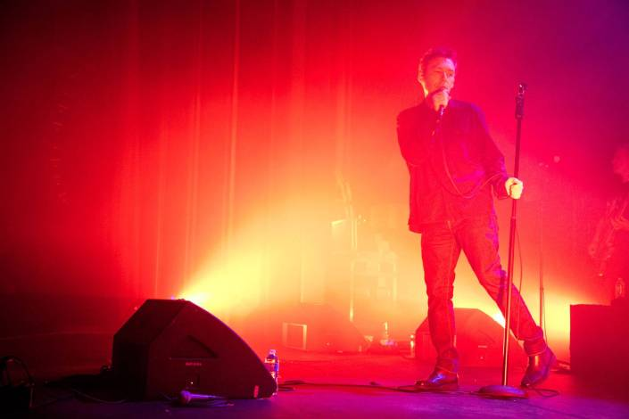The Jesus and Mary Chain at the Vogue Theatre, Vancouver, May 13 2015. Kirk Chantraine photo.