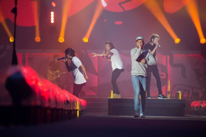 One Direction at BC Place, Vancouver, July 17 2015. Kirk Chantraine photo.