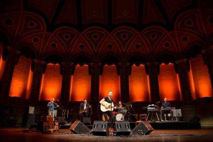 The Tallest Man On Earth at the Orpheum Theatre, Vancouver, Aug 22 2015. Kirk Chantraine photo.