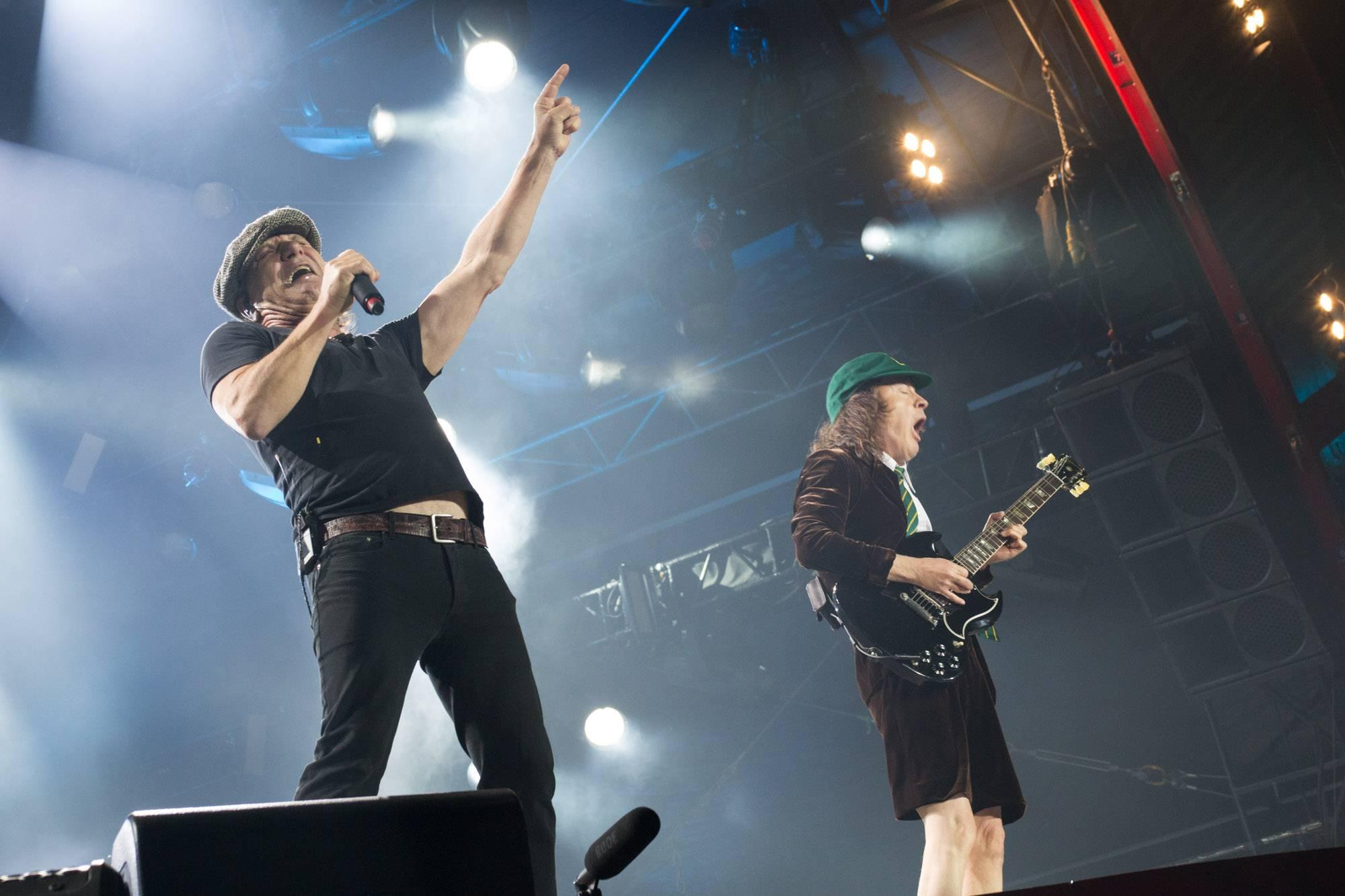 AC/DC at BC Place, Vancouver, Sept 22 2015. Kirk Chantraine photo.