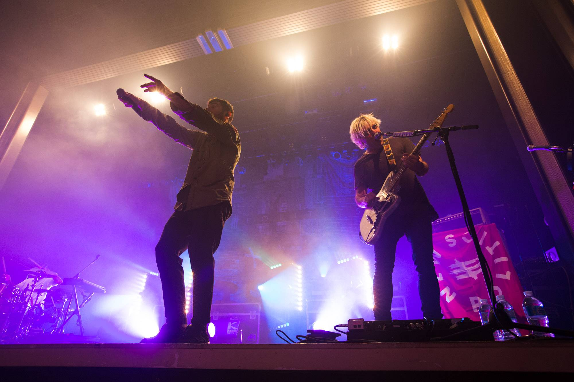 New Politics at the Vogue Theatre, Vancouver, Oct 14 2015. Kirk Chantraine photo.