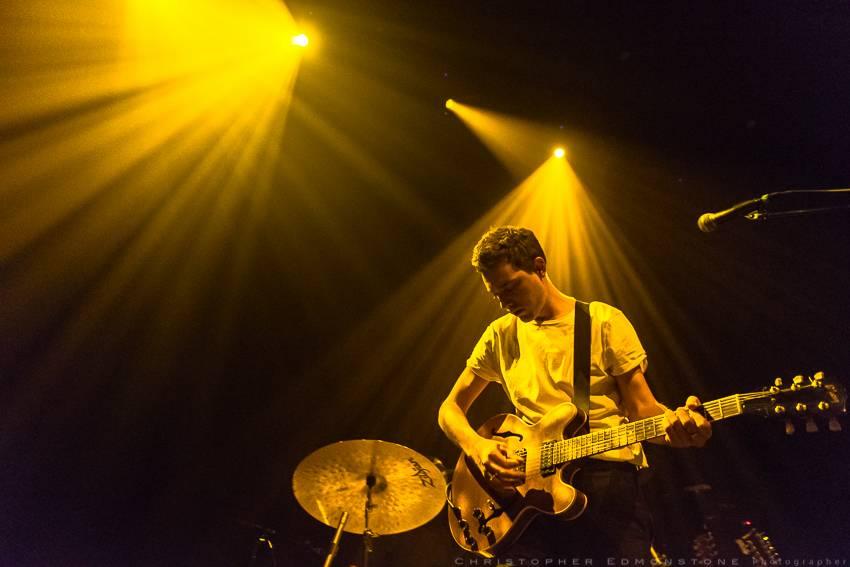 Born Ruffians at the Imperial Theatre, Vancouver, Nov. 21 2015. Christopher Edmonstone photo.