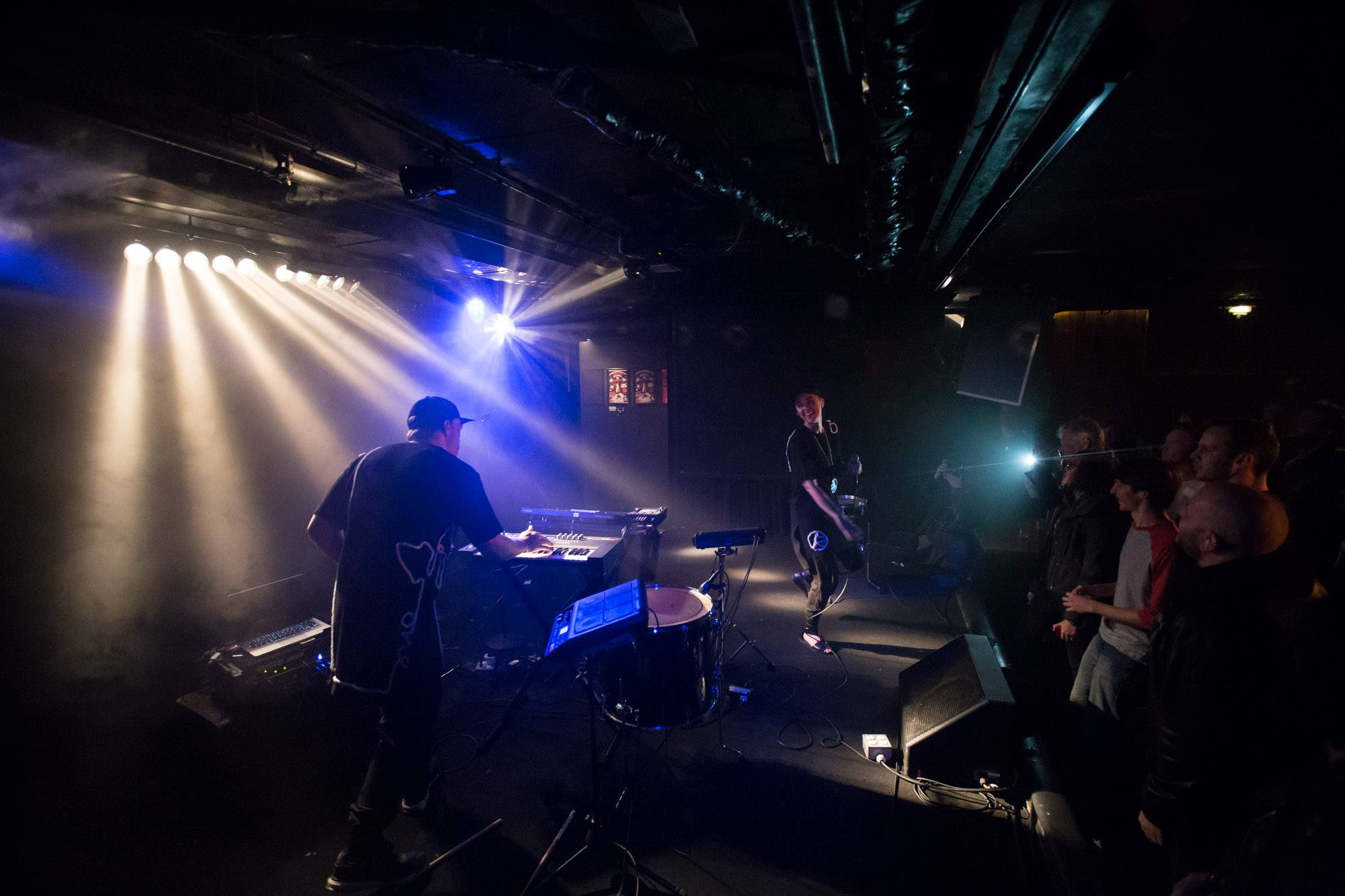 Kate Boy at the Biltmore Cabaret, Vancouver, Nov. 17 2015. Kirk Chantraine photo.